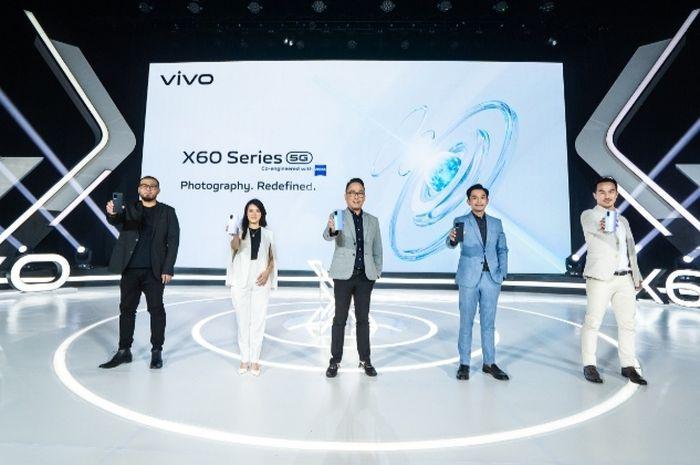 Ini Harga vivo X60 Series 5G yang Resmi Meluncur di Indonesia