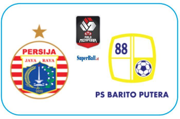 Persija Jakarta dan Barito Putera bentrok dalam perempat final Piala Menpora 2021 di Stadion Kanjuruhan, Kabupaten Malang, Sabtu (10/4/2021), untuk menantang PSM Makassar di semifinal.