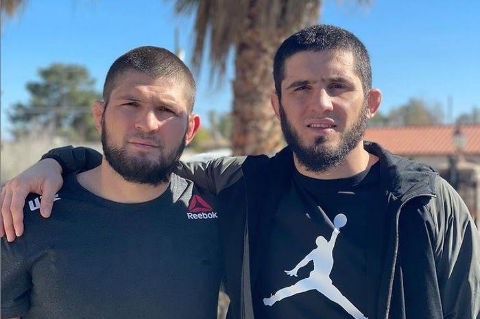 Khabib Nurmagomedov dan Islam Makhachev.