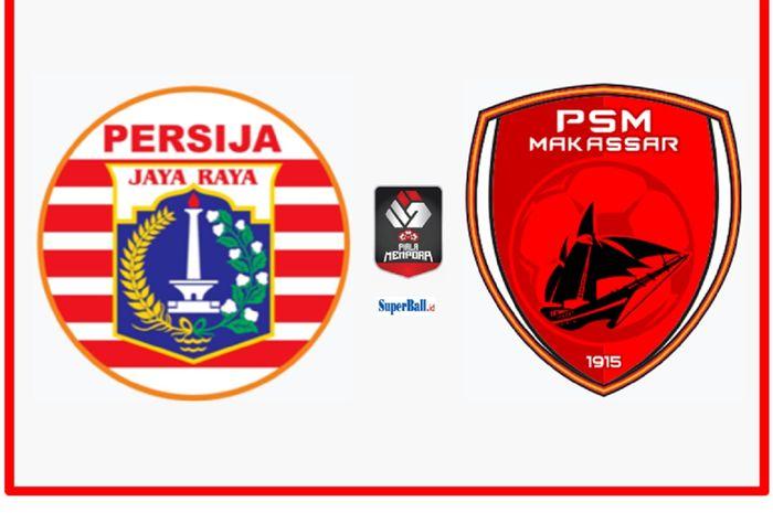 Persija Jakarta melayani PSM Makassar dalam leg 1 semifinal Piala Menpora 2021 di Stadion Maguwoharjo, Sleman, DIY, Kamis (15/4/2021) malam WIB.