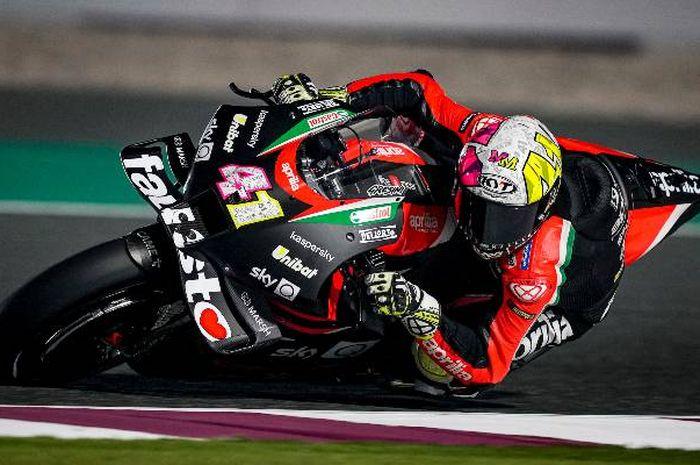 Pembalap MotoGP dari tim Aprilia Racing Team Gresini, Aleix Espargaro.
