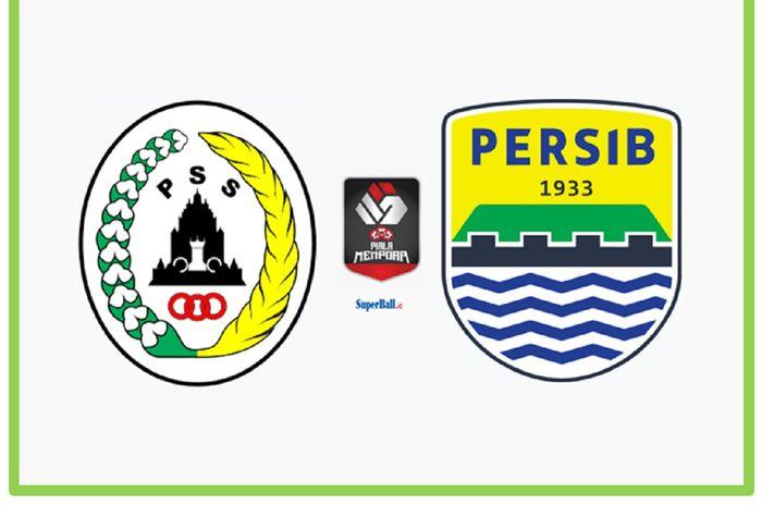 Semifinal leg pertama Piala Menpora 2021 antara PSS Sleman dan Persib Bandung di Stadion Maguwoharjo, Sleman, DIY, 16 April 2021.