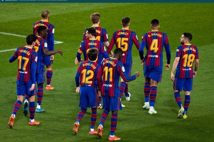 Eks Liverpool terbuang dari daftar pemain Barcelona di final Copa del Rey, sementara titisan Lionel Messi tetap ikut meski cedera.