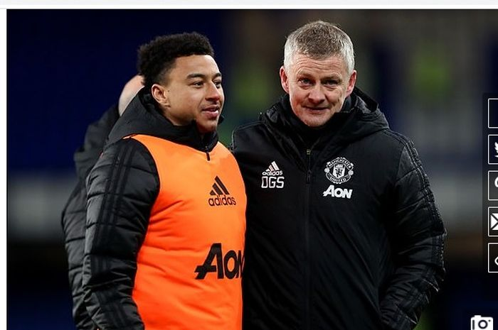 Jesse Lingard (kiri) sempat mempertimbangkan rehat dari sepak bola ketika masih membela Manchester United.