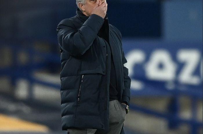 Pelatih Tottenham Hotspur, Jose Mourinho.