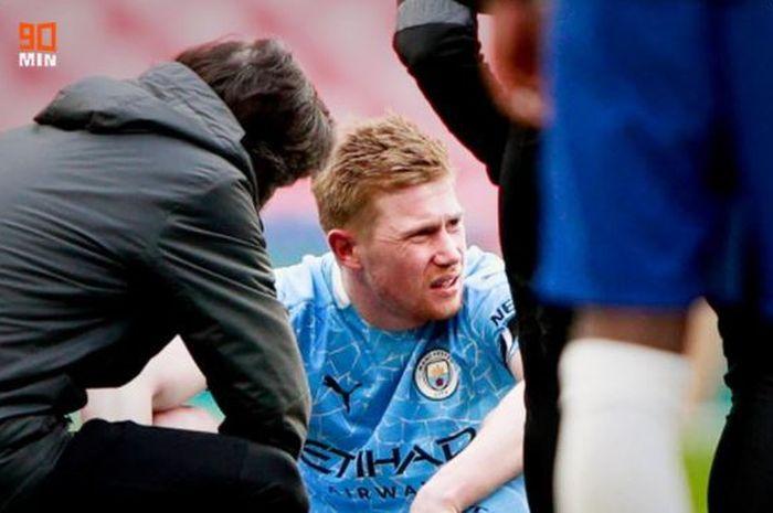 Kevin De Bruyne cedera, Manchester City menderita, Chelsea melaju ke final Piala FA usai menumbangkan The Citizens.