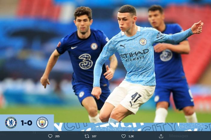 Man City Rontok di Piala FA: Quadruple Ambyar, Rek
