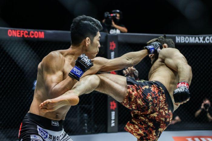 Duel Ok Rae Yoon vs Marat Gafurov di ONE on TNT 3, Kamis (22/4/2021) WIB.