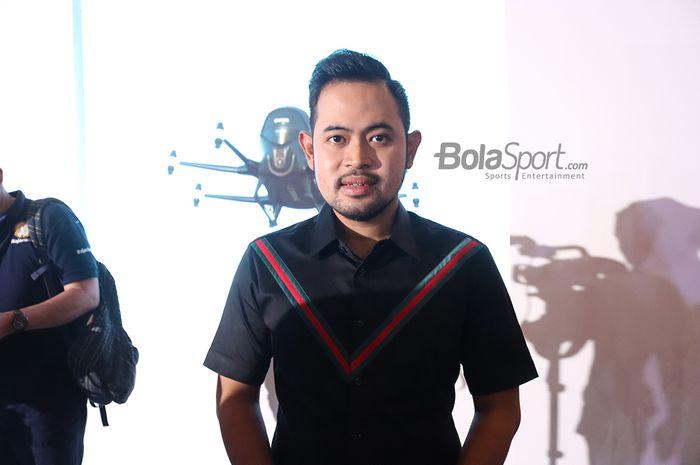 Presiden baru Arema FC, Gilang Widya Permana.