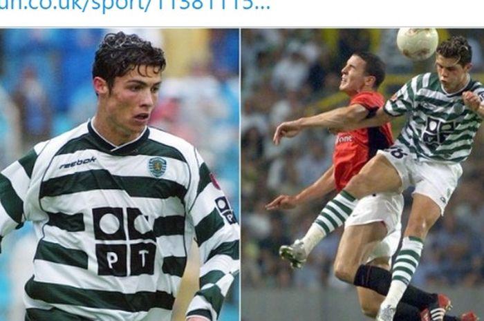 Aksi Cristiano Ronaldo yang pernah membuat John O'Shea kepayahan hingga butuh oksigen membuat Manchester United langsung gerak cepat alias gercep untuk merekrutnya.