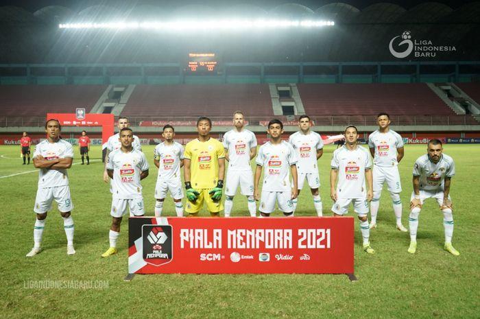 Skuad PSS Sleman di Piala Menpora 2021.