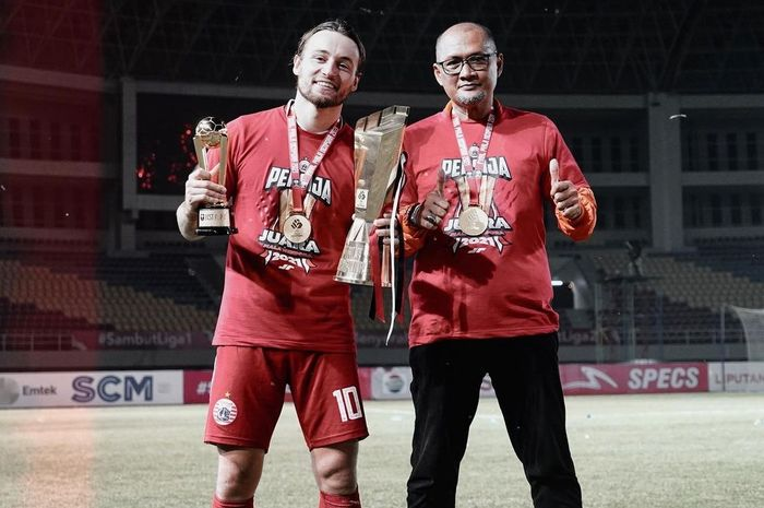 Marc Klok berhasil membawa Persija Juara Piala Menpora dan mendapat gelar pemain terbaik.