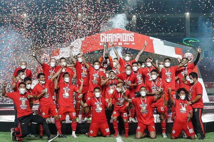 Persija Jakarta berhasil menjuarai Piala Menpora 2021.