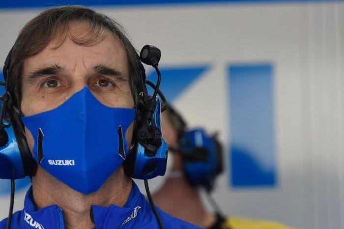 Mantan Bos tim Suzuki Ecstar, Davide Brivio menjelaskan perbedaan tugas antara pembalap MotoGP dan F1.