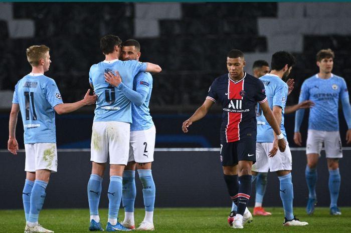 Paris Saint-Germain (PSG) harus mengakui keunggulan Manchester City pada laga leg pertama semifinal Liga Champions 2020-2021.