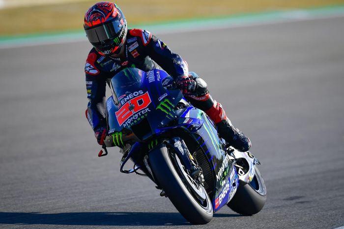 Fabio Quartararo cedera dan kehilangan kemenangan di MotoGP Spanyol 2021