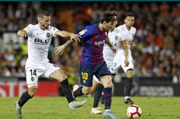 Barcelona bakal menghadapi Valencia pada pekan ke-34 Liga Spanyol 2020-2021.