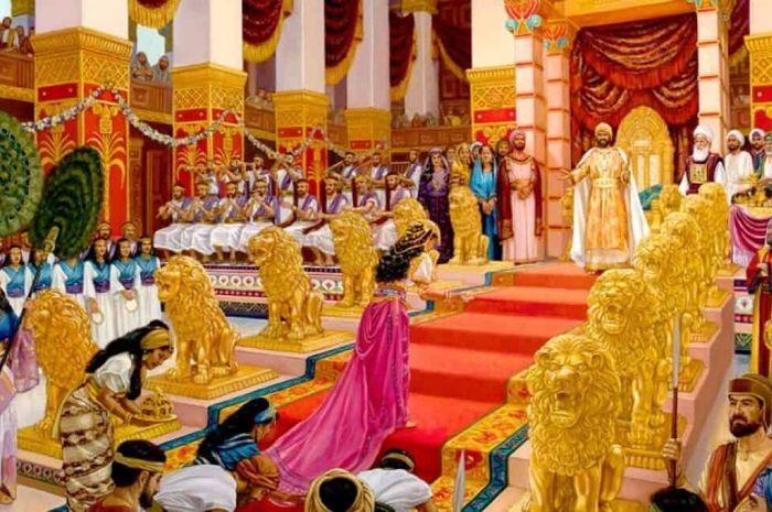 Ilustrasi kekayaan Raja Sulaiman