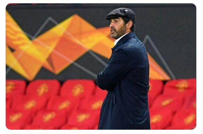 Pelatih AS Roma, Paulo Fonseca.