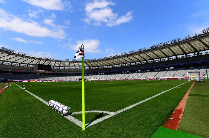 Ilustrasi stadion klub di Liga Jepang.