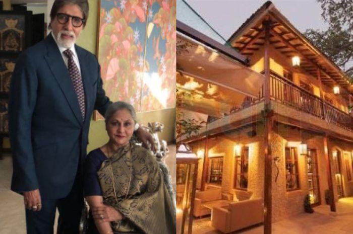 Amitabh Bachchan dan Jaya Bachchan serta rumahnya