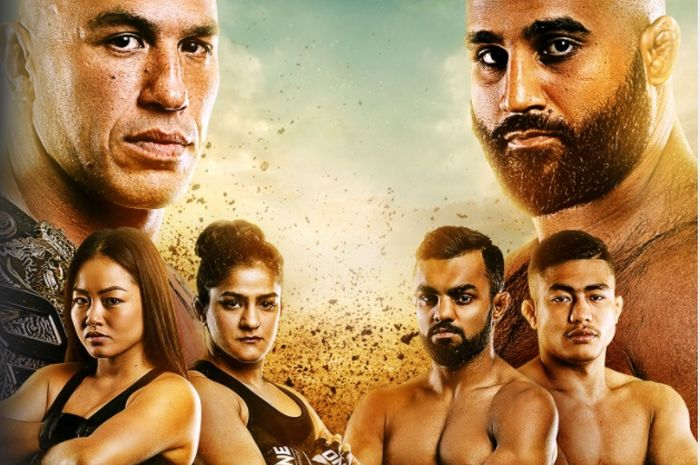 Poster event ONE Championship: Dangal.