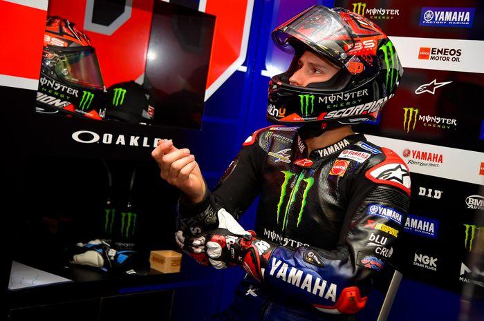 Fabio Quartararo masih merasakan keanehan pada lengannya di MotoGP Prancis 2021