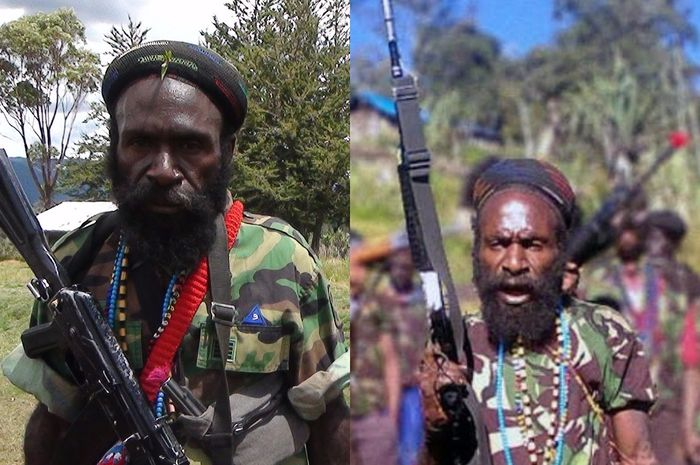 Lekagak Telenggen, pemimpin <a href='https://manado.tribunnews.com/tag/kkb' title='KKB'>KKB</a> Papua tantang perang <a href='https://manado.tribunnews.com/tag/tni-polri' title='TNI-Polri'>TNI-Polri</a>.