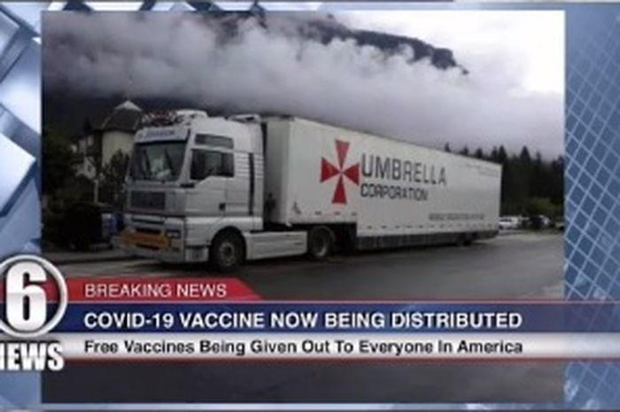 Viral Foto Truk Umbrella Corporation Apa Ada Kaitannya Dengan Zombie Dan Vaksin Semua Halaman Hai