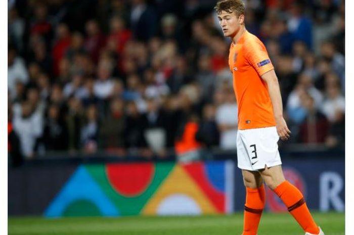 Bek timnas Belanda, Matthijs de Ligt.