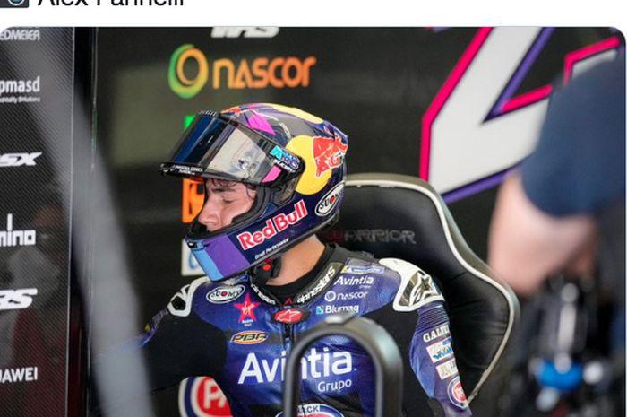 Pembalap MotoGP dari tim Reale Avintia Ducati, Enea Bastianini.