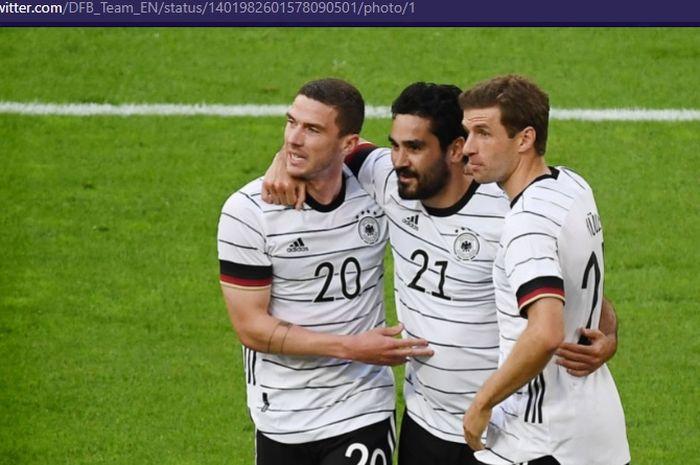 Striker AS Monaco, Kevin Volland, menyebutkan bahwa Jerman tidak gugup meski kalah di laga perdana EURO 2020.