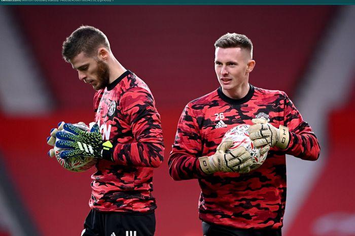 Manchester United disarankan untuk memilih Dean Henderson daripada David de Gea jika ingin lebih maju.
