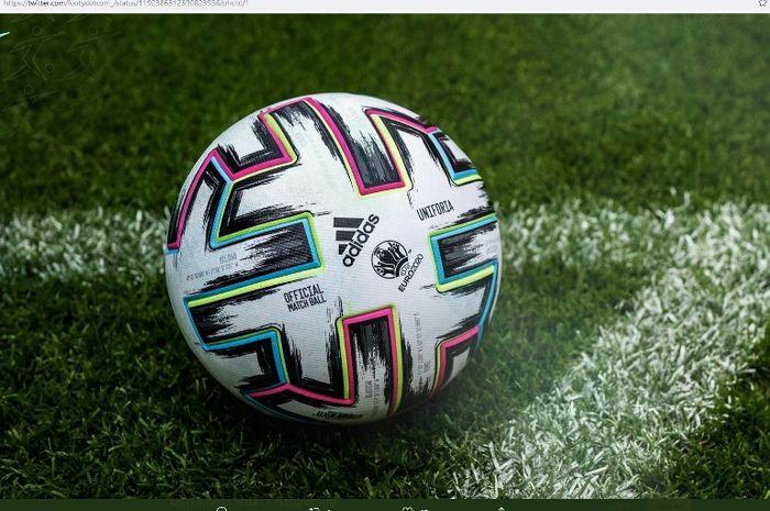 Uniforia, bola edisi Euro 2020.