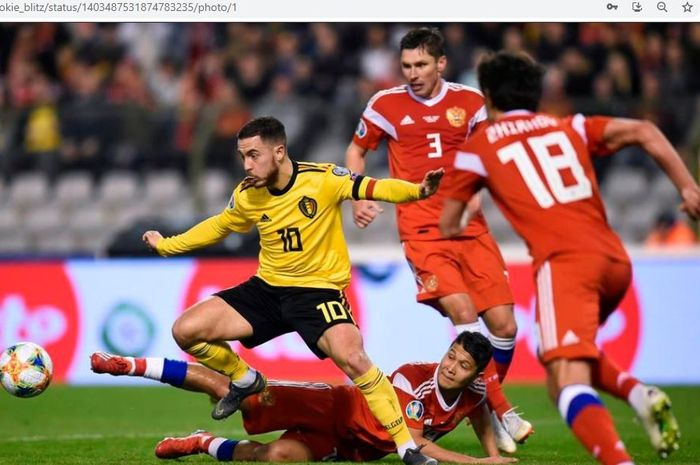 EURO 2020 - Belgia Vs Rusia, Menanti Kemenangan Perdana Utusan Vladimir Putin - Bolasport.com