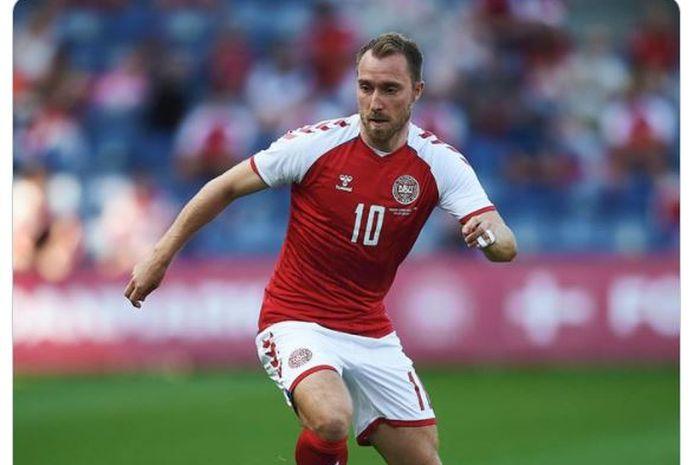 Gelandang timnas Denmark, Christian Eriksen.