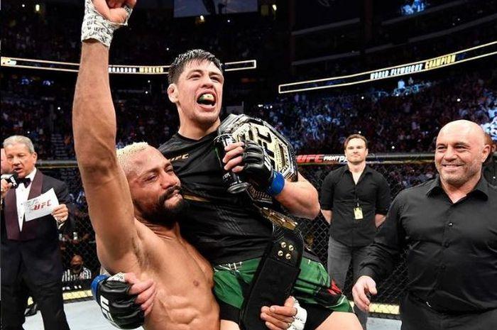 Jadi Kampiun Baru UFC, Brandon Moreno Ingin Tampil sebagai Julio Cesar Chavez MMA thumbnail