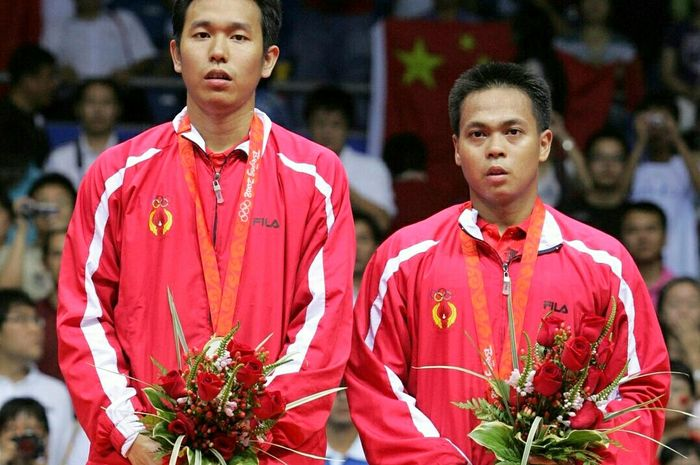 Hendra Setiawan dan Markis Kido