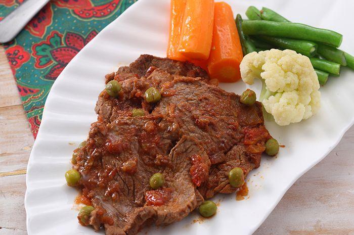 Resep bistik daging saus Inggris