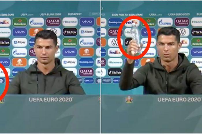 Karena ulah Cristiano Ronaldo saat konferensi pers, Coca Cola harus menanggung rugi hingga Rp 57,2 triliun dalam sekejap.