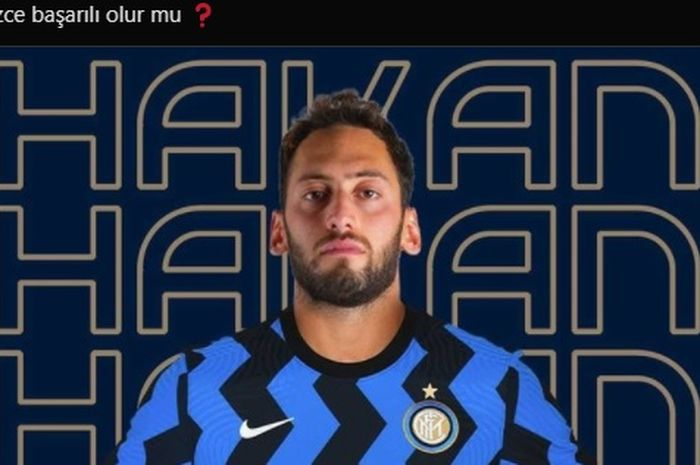 Gelandang serang AC Milan, Hakan Calhanoglu, dikabarkan bakal segera menjadi pemain Inter Milan.