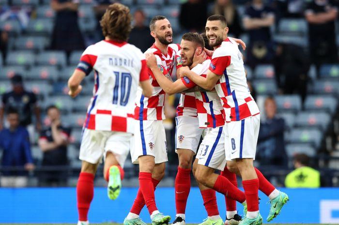 Timnas Kroasia bakal menghadapi timnas Spanyol pada babak 16 besar Euro 2020.