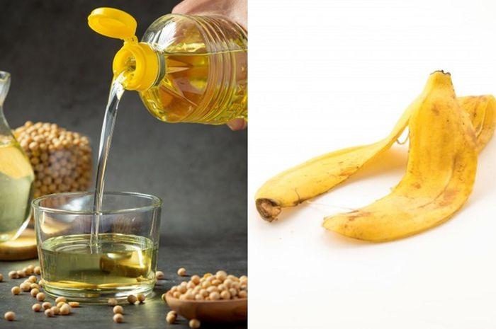 Kulit pisang bisa bikin minyak jelantah kembali jernih, begini caranya