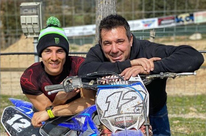 Ayah Maverick Vinales, Angel Vinales membongkar alasan kenapa anaknya meninggalkan Yamaha di MotoGP 2022.