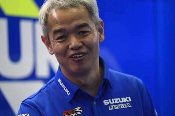 Direktur Tim Suzuki Ecstar, Shinichi Sahara.