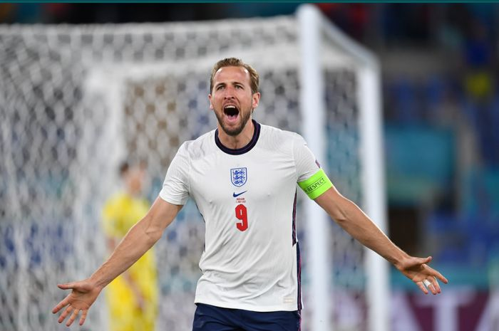 Harry Kane sukses mencetak gol pembuka pada kemenangan 1-0 Inggris atas Ukraina pada babak pertama.