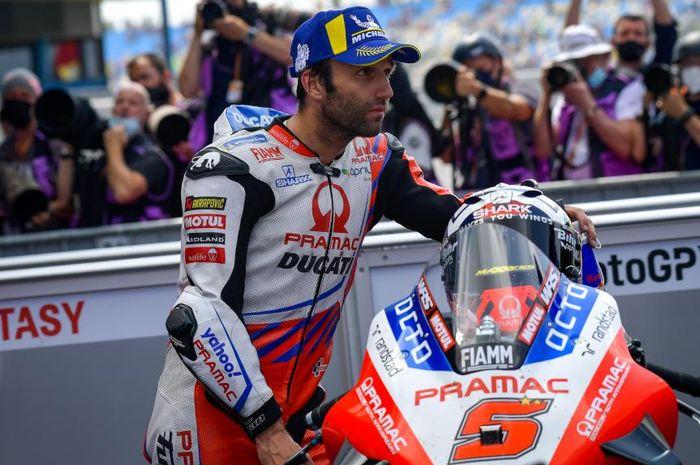 Johann Zarco enggak mau nyantai saat libur balapan MotoGP 2021.