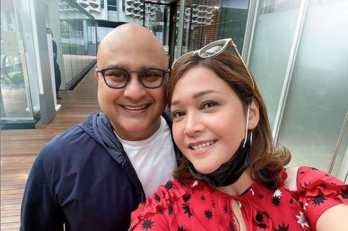 Maia dan Irwan Mussry