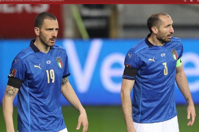Bek andalan Italia, Leonardo Bonucci, membeberkan motivasi yang membuat Gli Azzurri bisa juara EURO 2020.