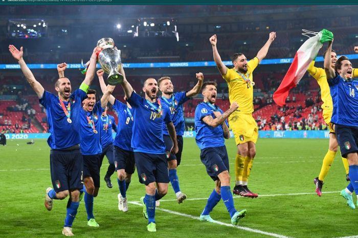 Pemain Timnas Italia Paling Magabut di EURO 2020, Dibayar Rp 8 Miliar thumbnail